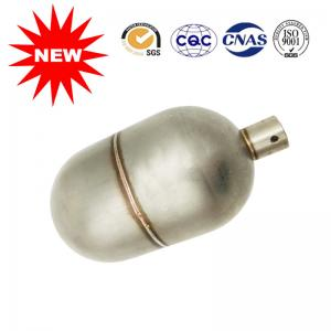 China Compact Threaded Tank Level Gauges Float 304/316L Stainless Steel Material on sale