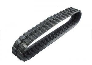 China Komatsu Pc60 Pc75 Excavator Rubber Tracks Low Elongation With Block Pattern on sale