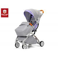 Adjustable Baby Born Pushchair , Baby Carriage Stroller Reclining Comfortable Seat