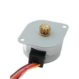 China 6 Wires 4 Phase Stepper Motor , 8V DC 7.5 Degree Stepper Motor  SM35-048 on sale
