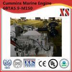 4 Stroke Water Cooled Cummins Marine Diesel Engine 6BTA5.9-M150 Engine