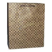 China Recycled Large Brown Kraft Paper Bags With Logo Printed , Printed Paper Carrier Bags on sale