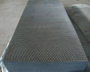 China Low-carbon Steel Expanded Mesh( ISO 9001) on sale