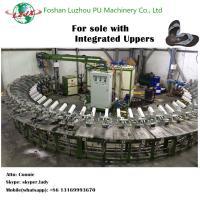semi-automatic sole with integrated upper foam soles PU sole making machine