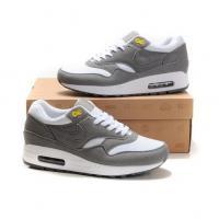Fashion shoes Nike Air Max 87 Men Blue Wolf Grey White Shoes
