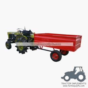 China 2WCART-17 2Wheel 17cubic. Utility Cart Trailers on sale