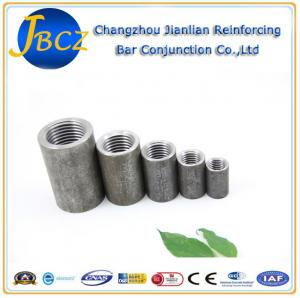 Quality Nuclear Standard Mechanical Rebar Splice White Or Black Reinforcement Couplers for sale