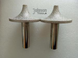 China OD70mm  Vacuum Brazed Diamond Tools Stone Profiller for CNC machine. on sale