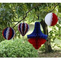 Holiday wedding decoration paper crafts custom multicolor honeycomb ball festive wedding supplies holiday decorations