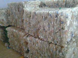 China PET BOTTLE SCRAPS on sale