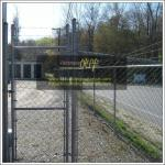 China Wire Fencing suppliers, Electro Galvanized Chain Link Fence,black chain Link fence