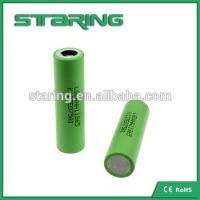 Fast shipping High drain rechargeable  LGAHA1  18650 1300MAH battery  for e cigarette battery