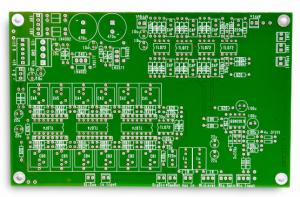 China TG180 Heavy Copper 2oz  PCB FR 4 Dual Layer PCB Industrial Control on sale