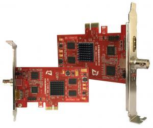 China 2 Channel Audio Video Capture Card HDMI/SDI PCI-E Capture Card For Media Server on sale