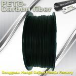 High Strength Filament 3D Printer Filament 1.75mm PETG - Carbon Fiber Black Filament