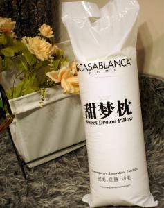 China Comfort Plump Sweet Dream Pillow Natural Comfort Pillows High Elasticity on sale