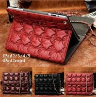 Wholesale Ultra-thin dormancy foldable leather case cover for ipad 5 with card slot holder and support standing