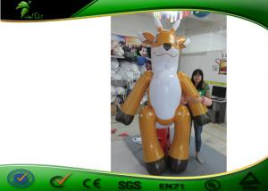 China Customized Inflatable Animals Suit / Inflatable Deer Costume for Events on sale