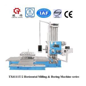 China Taladro horizontal de TX6111T/2 China y máquina aburrida manual del molino de la fresadora on sale