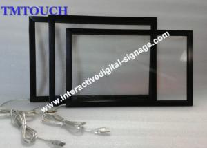 China Outdoor 6 Points Waterproof Infrared Touch Screen IR Panel Anti-glare on sale