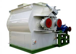 China Double Shaft Paddle Poultry Feed Mixer Grinder Machine 1 Year Warranty on sale