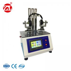 China PLC Touch Screen Wearing Headphone Torsion Testing Machine With Stepping Motor Servo on sale