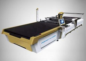 China Automatic CO2 Laser Cutting Machine CAD/CAM Cutting System For Cotton Linen Silk on sale