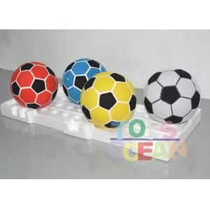 China Colorful Velcro Soccer Balls For Football Dart Board game Sticky Cover Football on sale
