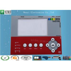 Membrane Switch Keypad Touch Panel Overlay Multi Color Numeric For UV Print Machine