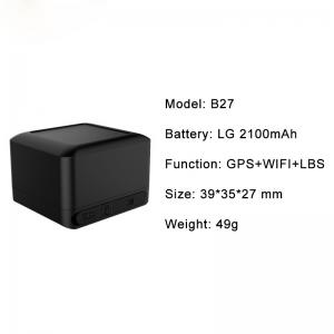 China Hidden Personal Mini GPS Tracker Chip For Persons And Pets WIFI Locating on sale