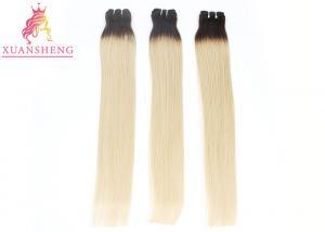 China Yellow Hair Straight Bundles Custom Made Real Hair Wigs No Shedding No Tangle Hair on sale