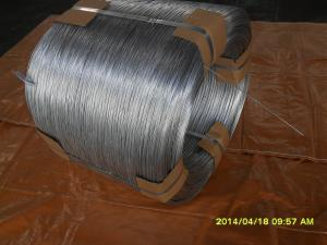 China 18# hot galvanized wire on sale