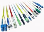 SC LC FC ST MU MPO Fiber Optic Patch Cord Low Insertion Loss And High Return Loss