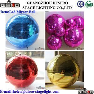 China Colorful Entertainment LED Magic Ball Light Mini Rotating Stage Light on sale