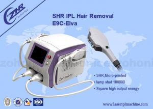 China Permanent SHR Hair Removal Machine Opt Ipl Technique For Beauty Spa on sale