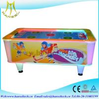 China Hansel hot selling 2017 coin operated mini air hockey game machine in game center on sale
