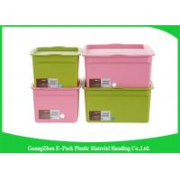 Customized Hard Clear Plastic Storage Box with Logo Eco - Friendly