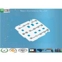 Membrane Switch Tactile Metal Domes Assembly SUS301 5 Dimple For Remote Controller