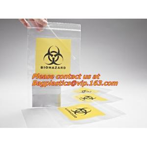 China 3 layer biohazard transport specimen bag/plastic biodegradable carry bags on sale