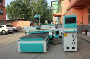 China No Deformed CNC Wood Cutting Machine High Stability With Air Cooling Spindle on sale