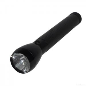China Heavy-duty 3-d Cell Krypton Bulb Flashlight Torch, Black on sale