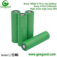 Sony VTC4 VTC5 VTC6 2100mAh 2600mAh 3100mAh 30A Max 60A  high amp battery for vape/Electronic cigarette power tools