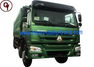 China China low price 40 ton Howo 10 tires volume sand tipper dump truck 6x4 on sale