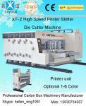 La impresora acanalada 4 colores automática Slotter de la caja muere máquina del cortador con el apilador