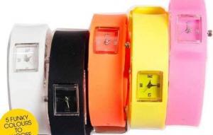 China silicone chutty watch on sale
