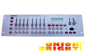 China Wireless 512 DMX Lighting Controller for celebration Party Stage Show , Auto / Manual Running Mode on sale
