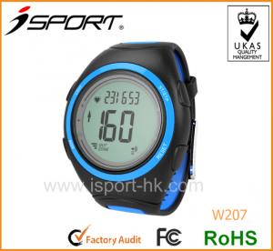 China Professional Fitness Pulse Watch Heart Rate Watch with Conductive Pads on sale