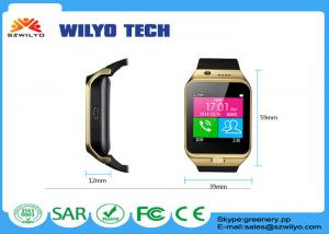 China Intelligent Bluetooth Clock Cell Phone Wrist Watch Smartphone Support GSM on sale