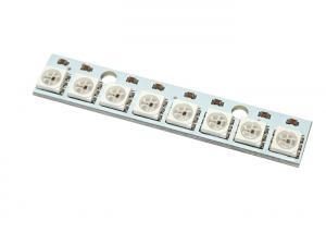 China Digital Full-color 5050 RGB LED Arduino Sensor Module 8 WS2812 on sale