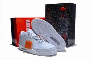 China 2012 New Mens Air Jordan 3 Sneakers Shoes all white on sale